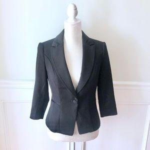 WHBM Single Button Black Blazer Suit Jacket 4
